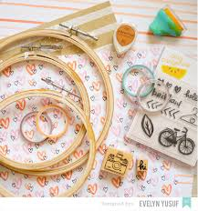 Home Decor Craft Blogs American Crafts Studio Blog Embroidery Hoop Tutorial By Evelyn Yusuf