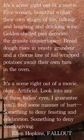 Thanksgiving Movie Quotes 267 Best Ellen Hopkins Books Images On Pinterest Quote Of The