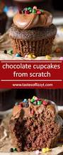 easy chocolate cupcakes from scratch you u0027ll love the soft