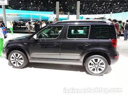 skoda yeti 2014 2014 skoda yeti outdoor side indian autos blog