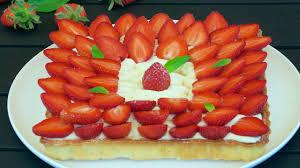 aux fraises cuisine tarte aux fraises citron et basilic dans la famille cuisine je