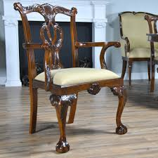 Chippendale Dining Room Set by Philadelphia Chippendale Chairs Set Of 10 Niagara Furniture