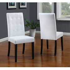 Red Parsons Chairs Parsons Dining Chairs Faux Leather Parsons Dining Chair Set Of 2