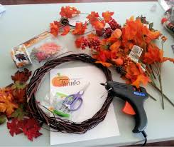 dollar tree autum wreath tutorial
