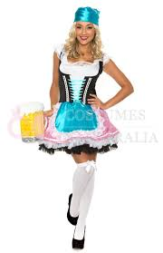 Gretchen Costume Halloween Ladies Beer Maid Wench German Heidi Oktoberfest Gretchen Costume