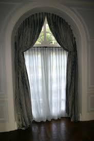 arched window treatments home decoration ideas half circle window