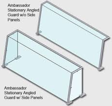 steam table with sneeze guard sneeze guards ambassador angled stationary sneeze guard