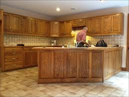 kitchen painting oak cabinets cream best primer for oak cabinets