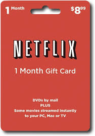 gift of the month netflix 1 month gift card netflix best buy