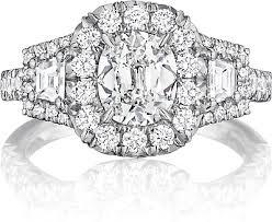 henri daussi engagement rings henri daussi three engagement ring acmt