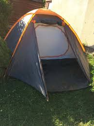 still for sale much loved 4 man tent with porch in mint condition