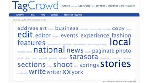 What Is The Subject For Sending A Resume Use A Tag Cloud To Check What You Need To Change In Your Resume