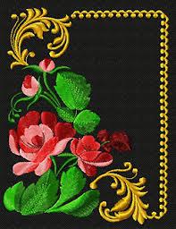 zhostovo machine embroidery designs machine embroidery