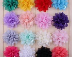 flowers for headbands fabric flowers etsy