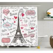 Heart Bathroom Accessories Eiffel Tower Bathroom Decor