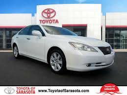 lexus pre certified vehicles pre owned 2007 lexus es 350 4d sedan in sarasota px1125 toyota