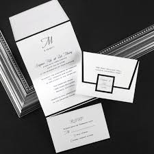 tri fold wedding invitations tri fold photo wedding invitations mini bridal