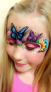 Butterfly Halloween Makeup by 2076 Best Images About Facepaint On Pinterest Face Painting