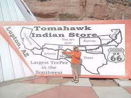 Winslow Arizona Map Chee U0027s Indian Store Tony Quarrington