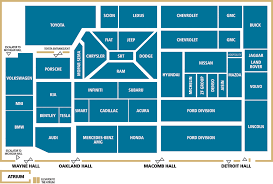 cobo hall floor plan planning a trip to the 2014 detroit auto show take this cobo center