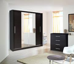 Mirrored Sliding Doors Closet Closet Modern Closet Doors Create A New Look For Your Room With