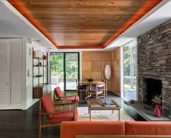 A Study With Walls In by Marvelous Midcentury Home Outside Nyc Wants 1 7m Curbed