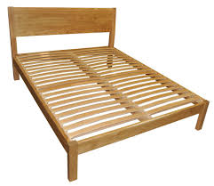 Oak Bed Hamsterly Solid Oak Super King Bed Frame 6ft