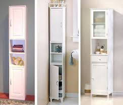 Bathroom Storage Cabinets With Doors Bathroom The Toilet Storage Bathroom Cabinets And Shelves