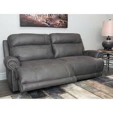 gray leather reclining sectional sofa slisports com