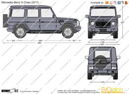 mercedes g wagon 2016 the blueprints com vector drawing mercedes benz g class