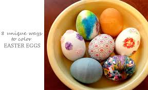 how to color easter eggs 8 non traditional ways to color easter eggs improvements blog