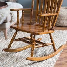 The Best Rocking Chair Belham Living Windsor Rocking Chair Oak Hayneedle