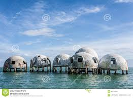 Dome Home by Dome Home Of Cape Romano Florida Stock Photo Image 83741749