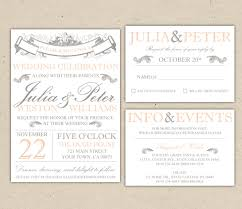 wedding invitation template free blank vintage wedding invitation templates elite wedding looks