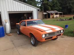 1968 camaro project car for sale 1968 camaro factory 4 speed car solid finish my