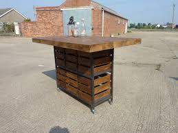 pine kitchen island industrial rustic pine kitchen island breakfast bar table with