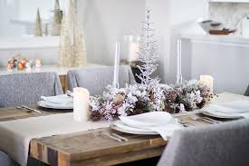 Christmas Table Centerpiece Decoration by Christmas Table Decorations Rustic Christmas Decor