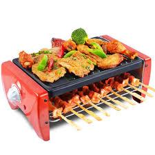 poele electrique cuisine techwood four électrique sans fumée barbecue poêle pour le ménage