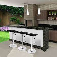 designer kitchen bar stools set of 2 modern kitchen bar stools adjustable swivel breakfast bar