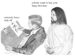 Jesus Drawing Meme - jesus explains the truth to every webcomic artist in existence