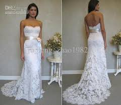 lace wedding dress with belt strapless lace mermaid wedding dresses prom dress 2013 belt