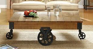 Caster Coffee Table Coffee Tables On Casters Coffee Tables Casters Mcclanmuse Co