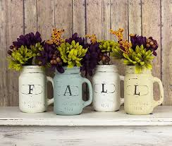 Mason Jar Vases Shabby Chic Fall Mason Jar Vases Project By Decoart