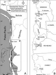 A Map Of South America by A Map Of The Andean Region Of South America Showing The