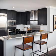 color kitchen cabinets with black appliances photos hgtv