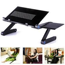 Laptop Desk Fan 360 Foldable Laptop Desk Table Cooling Fan Stand Portable