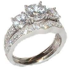 Wedding Ring Set by Bridal Sets Cubic Zirconia Sears