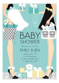 couples baby shower blue two classic baby shower invitation polka dot design