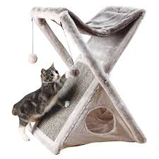 Outdoor Cat Condo Plans by Amazon Com Cat Houses U0026 Condos Beds U0026 Furniture Pet Supplies