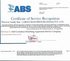 bureau of shipping certification services certification of directorate general